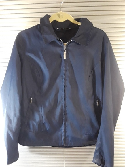 boston traders Jackets & Blazers - Boston Traders Vintage Blue Nylon Jacket - Large